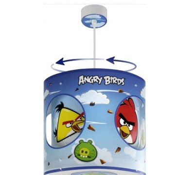 Lampe de Plafond – Suspension Rotative -Dalber – Angry Birds