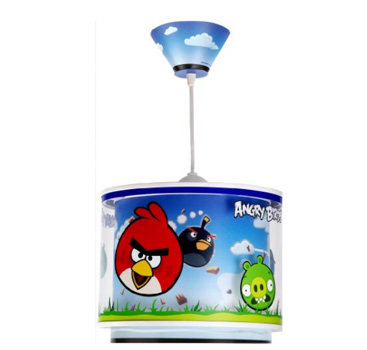 Lampe de Plafond – Suspension -Lustre – Dalber – Angry Birds