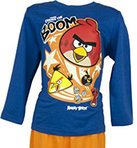Pyjama (4 à 10 ans) manches longues Angry Birds
