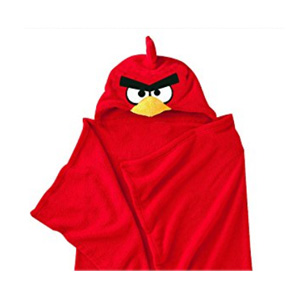 Couverture à capuche en polaire – Plaid –  Angry Bird
