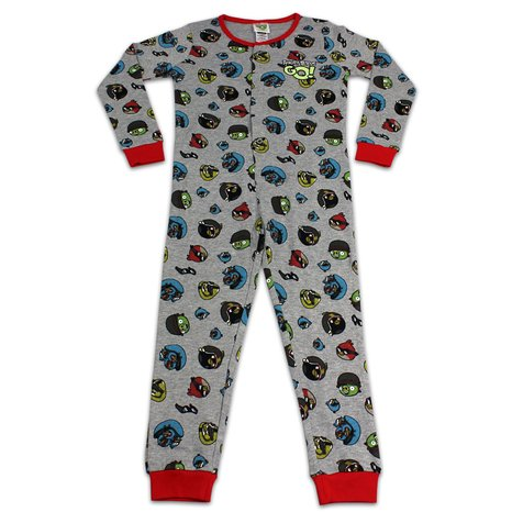 pyjama 5 12 ans angry birds combinaison gar on. Black Bedroom Furniture Sets. Home Design Ideas