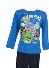 pyjama (4 à 10 ans) manches longues Angry Bird space is the place