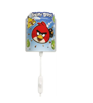 Mini Veilleuse Murale -Dalber- Angry Birds