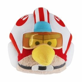 Luke Skywalker Pilote (casque X-Wing) dans Angry Birds Star Wars – Peluche