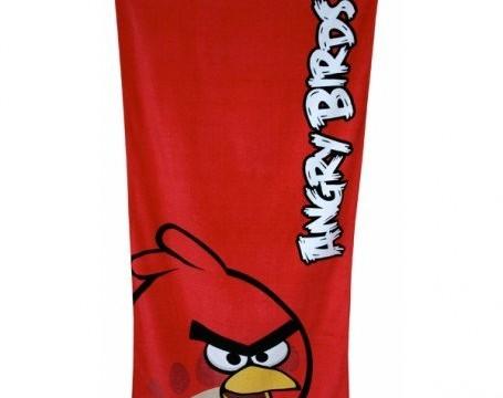 Angry birds – Drap de bain 140×70 cm