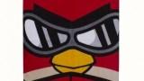 Angry birds go fast – serviette de bain