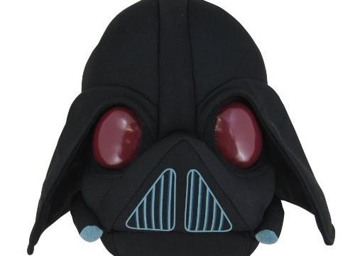 Lard Vader (Dark Vador) Angry Bird Star Wars- 12 cm -peluche