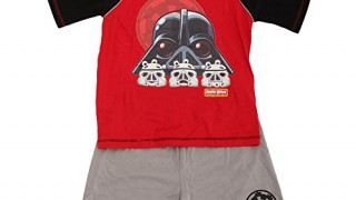 Pyjama (4 à 10 ans) Dark Vador et 3 stormtroopers -Angry Birds – Star Wars –  Garçon
