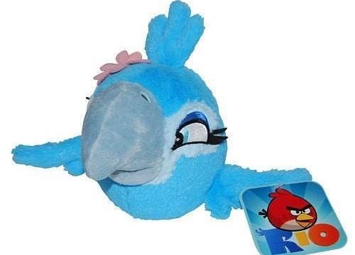 Bijou ( Jewel) Angry Birds Rio -13 cm – Peluche