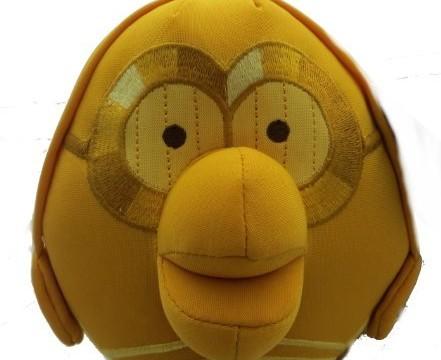 C-3PO d'Angry Birds Star Wars. Peluche de 11 cm.