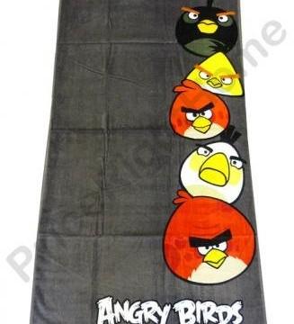 Angry birds – serviette de bain
