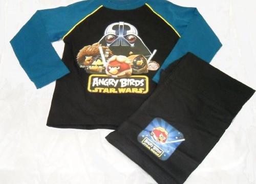 Pyjama (4-6 ans) Angry Birds Star Wars Noir