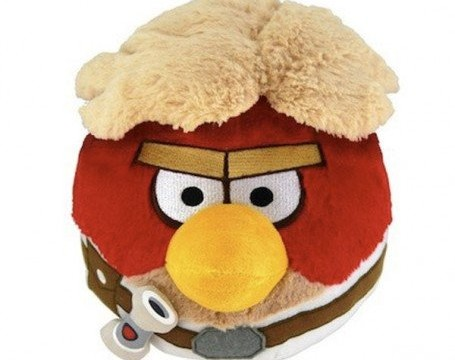 Luke Skywalker dans Angry Birds Star Wars – 12 cm- Peluche