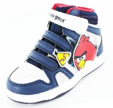 Chaussures Baskets (34) pour garçon Bleu marine- Angry Birds