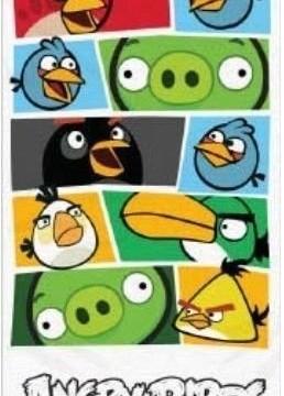 Serviette de bain/plage en coton -140 x 70 cm – Angry Birds