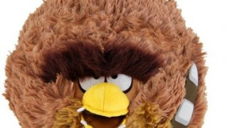 Chewbacca Angry Birds Star Wars – 13 cm-peluche (vendu par Universal Trends)