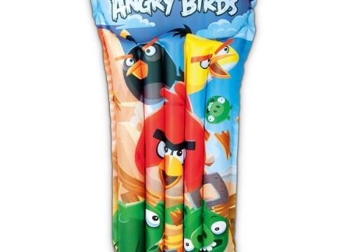 Matelas pneumatique pour enfants Angry Birds