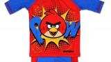 Short de bain (2  et 4 ans) –  Garçon -Angry Birds