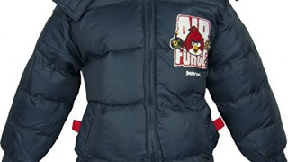 Manteau / Doudoune (8-10 ans) Marine-Angry Birds