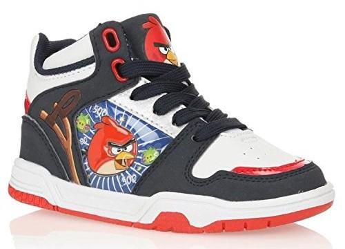 chaussures Baskets (28 à 34 )  pour enfant – Angry Birds