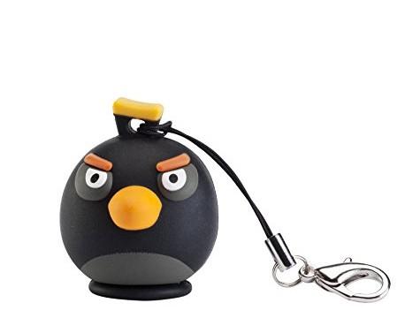 Porte clé de Bomb, l'oiseau Noir d'Angry Birds