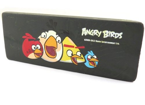 Très grosse gomme noir d'Angry Birds