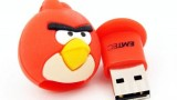 Clé USB 4 Go Red l'oiseau rouge d'Angry Bird Emtec A100