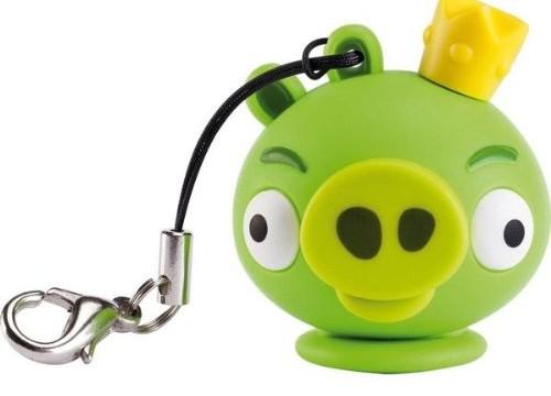 Clé USB 4 Go  roi des cochons d'Angry Birds + Rallonge USB type A mâle / femelle – 2 mètres