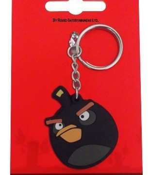 Porte-clés Bomb, l'oiseau noir d'Angry Birds