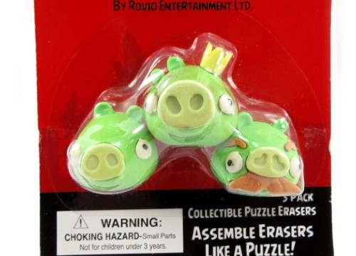 3 cochons roi – gommes Angry Birds
