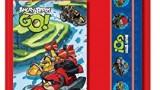 Lot papèterie  : bloc-notes, gomme, crayon, règle et taille crayon -Angry Birds Go
