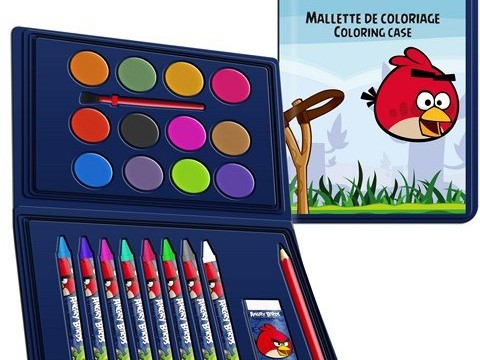 Mallette de coloriage –  Angry Birds