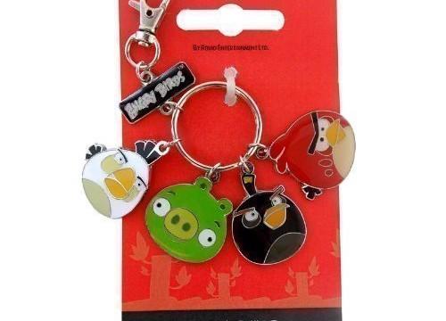 Porte-clé breloque Angry Birds