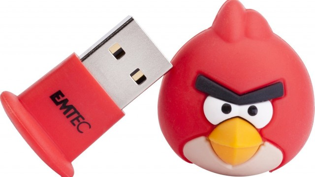 Clé USB 8 Go Emtec A100 Red l'oiseau rouge d'Angry Bird